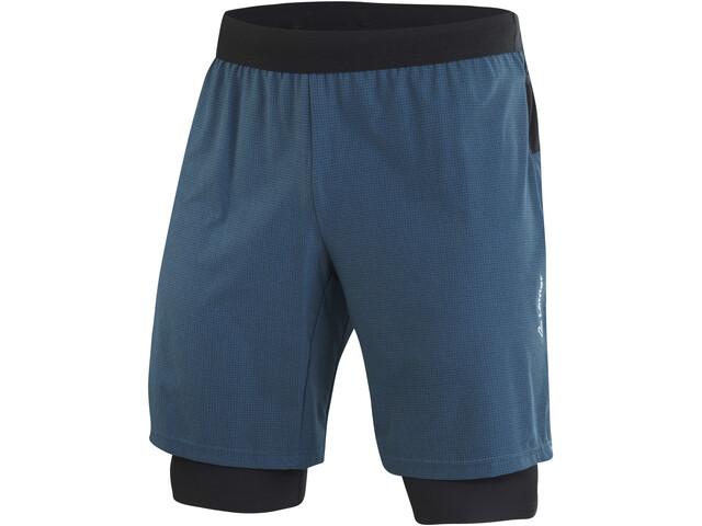 Löffler Aero CSSL 2in1 Shorts Herren pond green